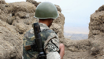 Armenian Armed Forces do not fire in the direction of Azerbaijani settlements
