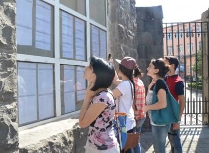 ԳԹԿ-ն հրապարակել է բուհերի անցողիկ միավորները