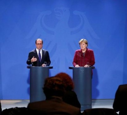 Merkel and Hollande did not rule out the possibility of discussing sanctions against Russia at the EU summit