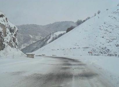 Հանրապետության որոշ հատվածներում ձյուն է տեղում