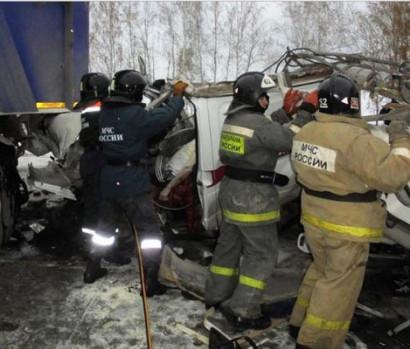 10 детей и двое взрослых погибли в ХМАО по вине водителя автобуса