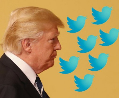 Trump sued for blocking users on Twitter
