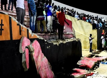 Eight killed in Senegal stadium stampede