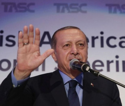 Five people detained, released by Turkish President's security detail in New York