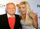 Hugh Hefner's 31-year-old wife Crystal Harris 'will inherit nothing after signing iron-clad prenup and never being added to his will'
