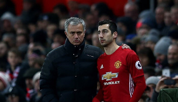 Mkhitaryan's Man United future in doubt after Mourinho row