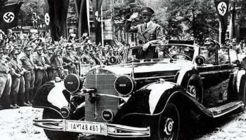 Adolf Hitler's armour-plated Mercedes-Benz set to fetch millions at auction