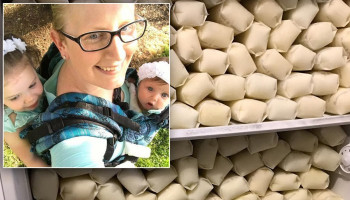 'Super-Producing' Mom Donates 700 Gallons of Breast Milk