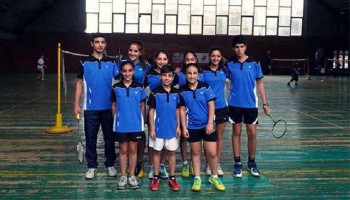 Armenian badminton players to participate in the European U15 Championship