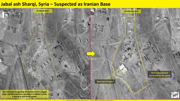 New satellite photos show Iran establishing another base in Syria