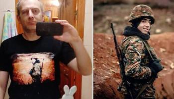 Լապշինը հայ զինվորի պատկերով վերնաշապիկ է կրել