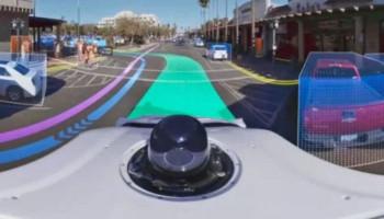 Waymo показала, как робомобили «видят» окружающий мир
