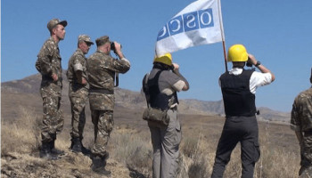 OSCE mission conducts monitoring at contact line between Artsakh and Azerbaijan armed forces