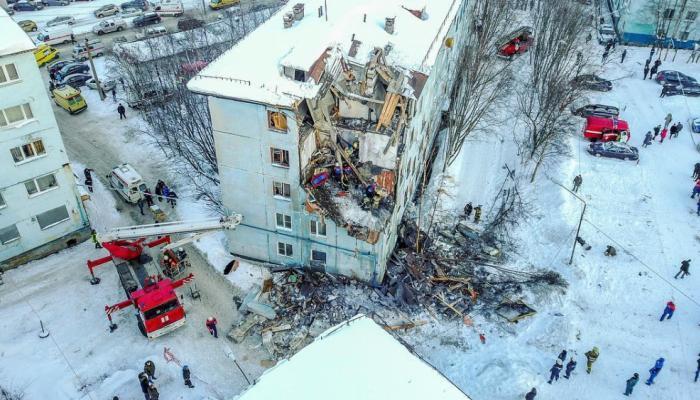Մուրմանսկում բնակելի շենք է փլուզվել