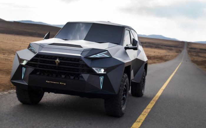 The Karlmann King is the world's most expensive SUV