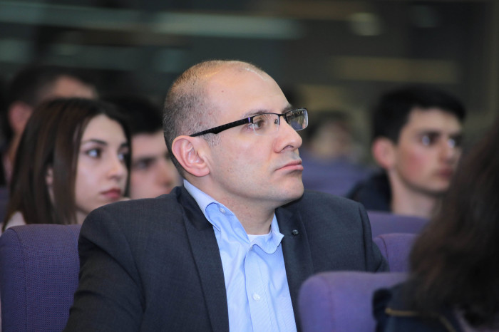 """Leadership as a business skill"": Ralph Yirikian hosted by the American University of Armenia"