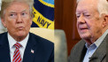 Carter to Trump: shun military action, keep country at peace