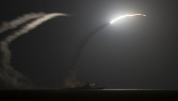 U.S. launches missile strikes in Syria