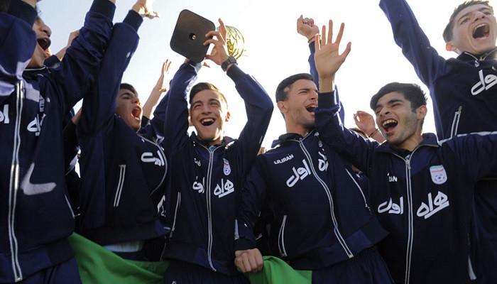 Իրանի մինչև 14 տարեկանների հավաքականը՝ Զարգացման մրցաշարի հաղթող