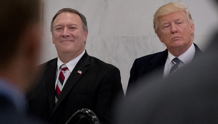 CIA Director Pompeo met with North Korean leader Kim Jong Un