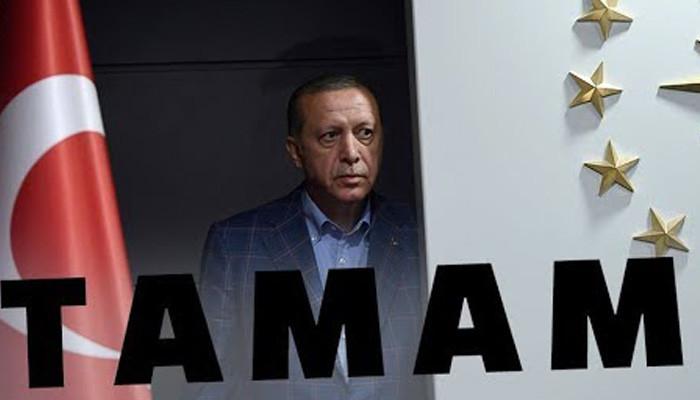 Турки говорят Эрдогану #Tamam