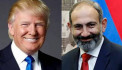 President Donald Trump congratulated Prime Minister Nikol Pashinyan on his recent election.