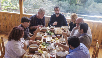 The Best Moments of Anthony Bourdain's Visit to Armenia on 'Parts Unknown'