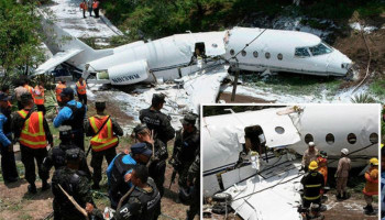 Honduras plane crash – at least six injured as jet crashes in Tegucigalpa