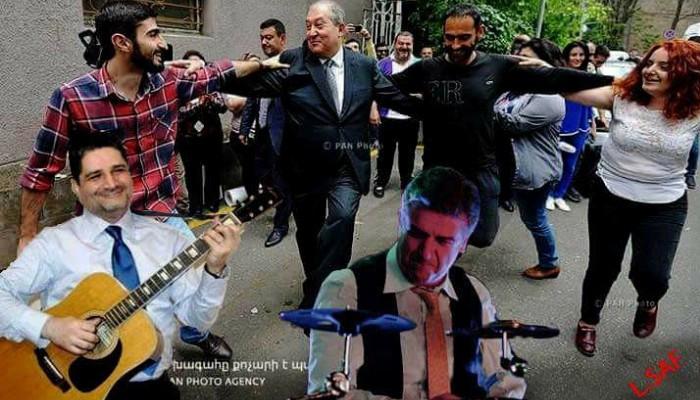 Համացանցի մեմերը՝ Արմեն Սարգսյանի պարի վերաբերյալ