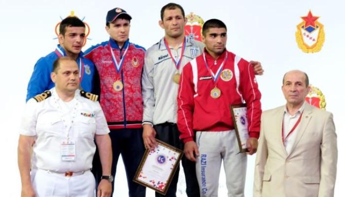 Ըմբշամարտ. 1 ոսկե, 1 արծաթե և 3 բրոնզե մեդալ՝ զինվորականների աշխարհի առաջնությունից