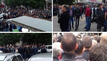 Բողոքի ակցիա՝ Ստեփանակերտում. քաղաքացիները պահանջում են ուժային կառույցների ղեկավարների հրաժարականը