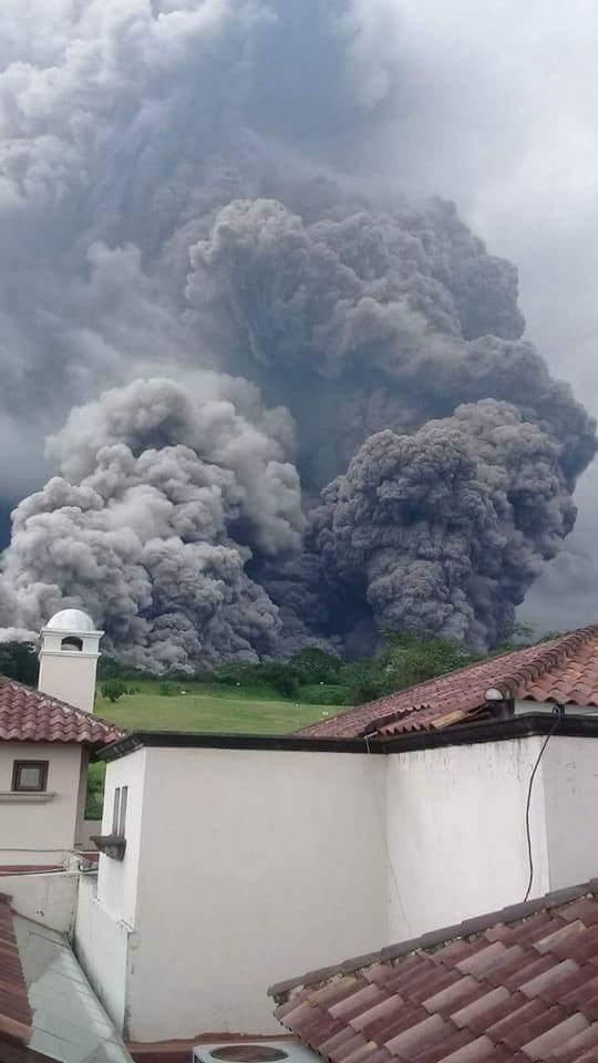 Guatemala volcano: Dozens die as Fuego volcano erupts