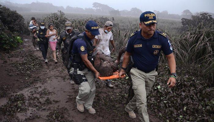 Guatemala'da büyük felaket! Yanardağ patladı: 38 ölü