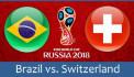 ԱԱ-2018. Բրազիլիա - Շվեյցարիա. ուղիղ միացում