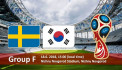 ԱԱ-2018. Շվեդիա - Հարավային Կորեա. ուղիղ միացում