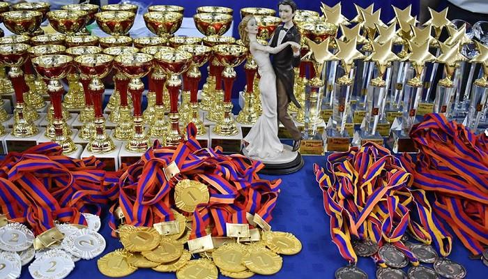 Ստեփանակերտում կայացել է սպորտային պարերի միջազգային մրցույթ-փառատոն