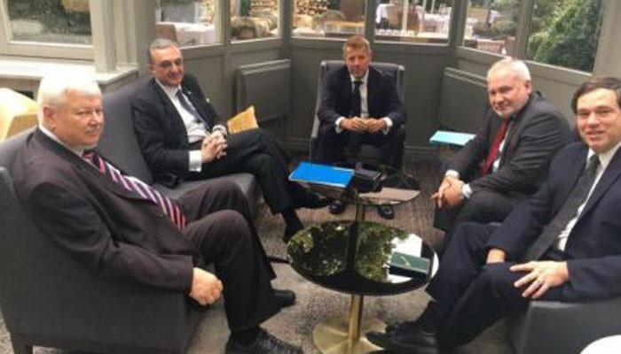 Բրյուսելում ընթանում է Զոհրաբ Մնացականյանի և ԵԱՀԿ Մինսկի խմբի համանախագահների հանդիպումը