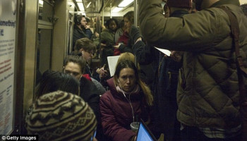 Subway commuters pick up bacteria and pathogens from EVERYONE who has traveled on the same system as them on their evening journey, researchers find
