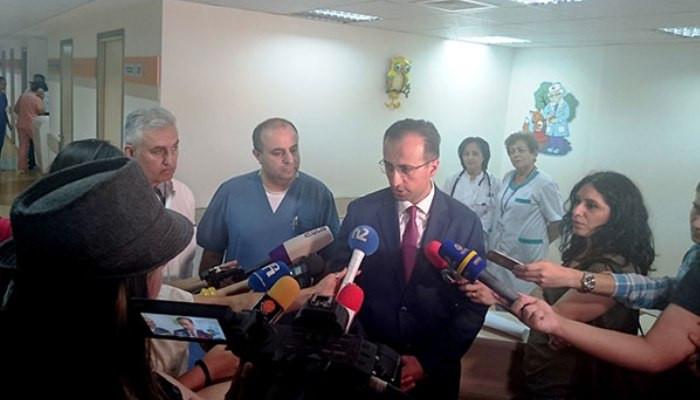 ՀՀ-ում երկամյա երեխան ենթարկվել է ցողունային բջիջների աուտոփոխպատվաստման բացառիկ վիրահատության