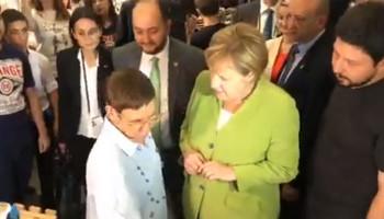Անգելա Մերկելն այցելել է «Թումո» կենտրոն (տեսանյութ)