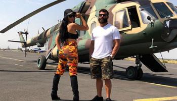 Դեն Բիլզերյանի ընկերուհին Արցախից զինվորական ֆոտոշարք է հրապարակել