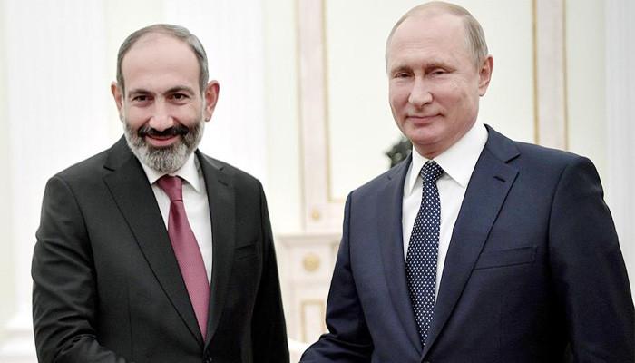 Владимир Путин и Никол Пашинян встретятся 8 сентября