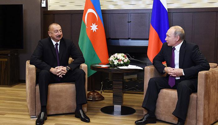 Российский президент собирается в Баку