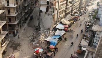 Боевики открыли ракетный огонь по Алеппо, сообщил источник