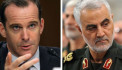 US presidential envoy and a top Iranian military commander had met secretly in Iraq