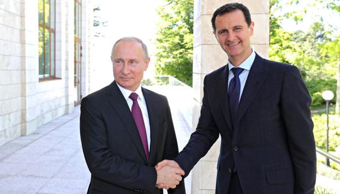 Асад написал Путину о гибели Ил-20 из-за безответственности Израиля
