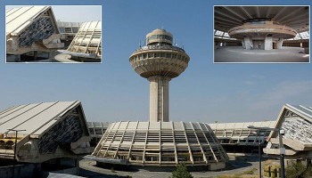 Inside the 'revolutionary' Soviet airport that was once the height of luxury but now faces demolition in Armenia