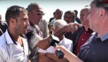 Արագածոտնի մարզի 3 գյուղերի բնակիչներ կանգնեցրել են Հյուսիս-հարավ ավտոմայրուղու շինարարությունը (տեսանյութ)