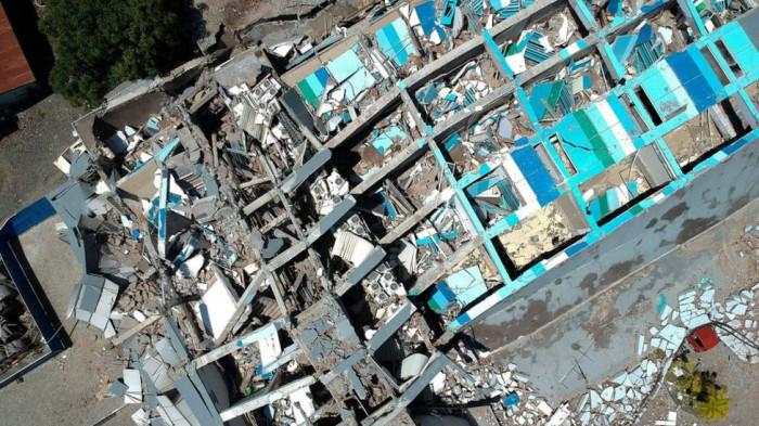 На индонезийском острове Сулавеси произошло новое землетрясение