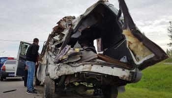 В ДТП с автобусом и маршруткой в Тверской области погибли 13 человек